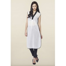 Deals, Discounts & Offers on Women Clothing - Flat 50% off on AND Cream Aztec Print Tunic