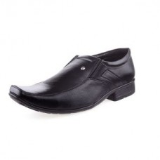 Deals, Discounts & Offers on Foot Wear - Flat 40% off on  Black Slip up Formal Shoes