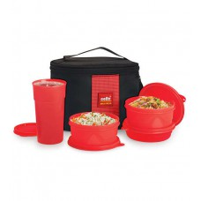 Deals, Discounts & Offers on Home & Kitchen - Cello Max Fresh Red Super Lunch Box