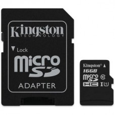 Deals, Discounts & Offers on Mobile Accessories - Kingston 16GB micro Memory Card with Adapter