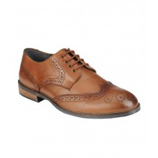 Deals, Discounts & Offers on Foot Wear - Delize Tan Formal Shoes