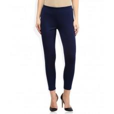 Deals, Discounts & Offers on Women Clothing - Global Desi Blue Leggings
