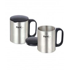 Deals, Discounts & Offers on Home Appliances - Pigeon Double Coffee Cup