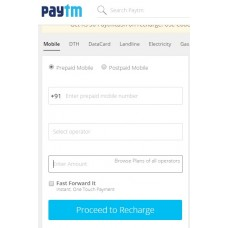 Deals, Discounts & Offers on Recharge - Get up to Rs.50 cashback on recharge and Mobile Bill Payment.