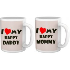 Deals, Discounts & Offers on Home Decor & Festive Needs - Flat 54% off on Tiedribbons Coffee Mugs