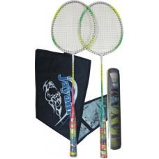 Deals, Discounts & Offers on Sports - Jayam Rangeila Triple Badminton Kit