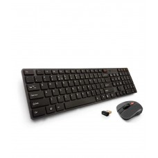 Deals, Discounts & Offers on Computers & Peripherals - Amkette Optimus Desktop Wireless Keyboard and Mouse Combo