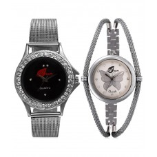 Deals, Discounts & Offers on Women - Arum Combo Of Two Watches For Women
