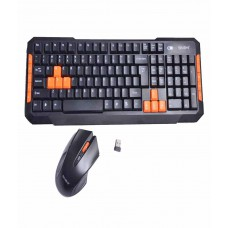 Deals, Discounts & Offers on Computers & Peripherals - Snehi WS2000 Black Wireless Keyboard Mouse Combo