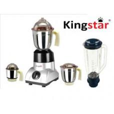 Deals, Discounts & Offers on Home Appliances - Kingstar Ecosport 4 Jar 750 Watt Mixer Grinder