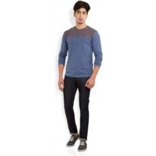 Deals, Discounts & Offers on Men Clothing - HIGHLANDER Solid Men's Round Neck T-Shirt