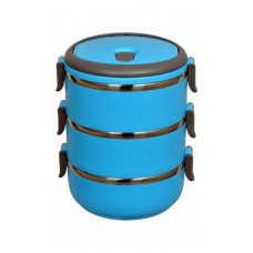 Deals, Discounts & Offers on Home Appliances - Scitek  Three Layer Stainless Steel Lunch Box