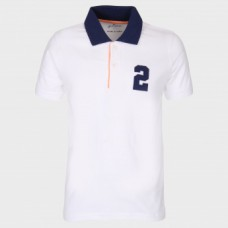 Landmark Offers and Deals Online - JUNIORS Cotton Polo Neck T-Shirt