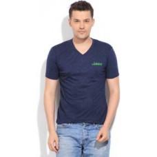 Deals, Discounts & Offers on Men Clothing - Fort Collins Self Design V-neck  T-Shirt