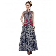 Deals, Discounts & Offers on Women Clothing - Ellis Harvey Georgette Unstitched Dress Material