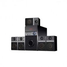 Deals, Discounts & Offers on Entertainment - Flow Hiphop 5.1 Speaker System with FM USB AUX MMC and  Woofer Wooden