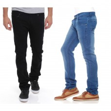 Deals, Discounts & Offers on Men Clothing - Stylox Set of 2  Denim Jeans