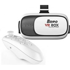Deals, Discounts & Offers on Accessories - Bingo Virtual Reality 3D VR Box with Bluetooth Remote Controller