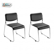 Deals, Discounts & Offers on Furniture - Buy 1 Stackable Visitor Chair Get 1 Free