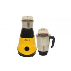 Deals, Discounts & Offers on Home & Kitchen - Flat 68% off on Spunk Bolt  Two Jar Mixer Grinder