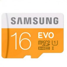 Deals, Discounts & Offers on Mobile Accessories - Samsung 16GB EVO Class 10