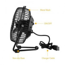 Deals, Discounts & Offers on Home Appliances - USB Fan Mini Portable Desktop Cooling Desk Quiet Fan