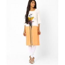 Deals, Discounts & Offers on Women Clothing - Flat 30% off on Floral Print Kurta