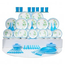 Deals, Discounts & Offers on Home Appliances - JOYO Designer Microwave Dinner Set - 84 Pcs