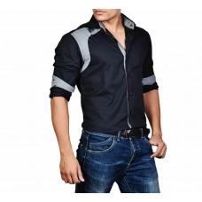 Deals, Discounts & Offers on Men Clothing - Dazzio Men's Slim Fit Cotton Casual Shirt