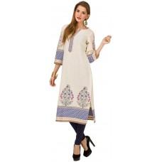 Deals, Discounts & Offers on Women Clothing - Vishudh Women's Straight Kurta