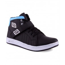 Deals, Discounts & Offers on Foot Wear - Aadi Black Canvas Casual Shoes