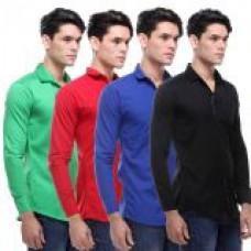 Deals, Discounts & Offers on Men Clothing - VSI Multicolor Casual Shirt For Men