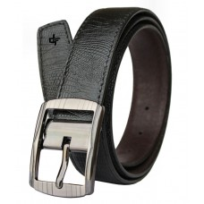 Deals, Discounts & Offers on Men - Discover Fashion Black PU Leather Belt for Men