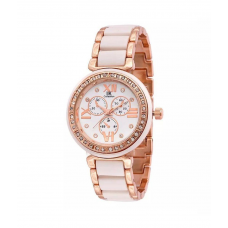 Deals, Discounts & Offers on Accessories - IIK Collection Golden Analog Watch