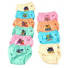Deals, Discounts & Offers on Baby & Kids - Mrb Multicolour Innerwear Panties For Girls Pack Of 10