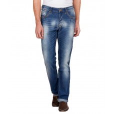 Deals, Discounts & Offers on Men Clothing - Pepe Jeans Blue Slim Fit Faded Jeans
