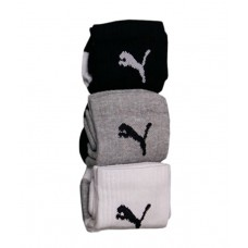 Deals, Discounts & Offers on Accessories - Puma Multicolour Cotton Ankle Length Socks - 3 Pair Pack