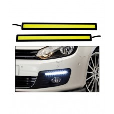 Deals, Discounts & Offers on Car & Bike Accessories - Cartronics Car Fog LED Lights / DRL Day Time Running Lights