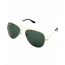 Deals, Discounts & Offers on Accessories - Elligator Golden Frame Aviator Sunglass