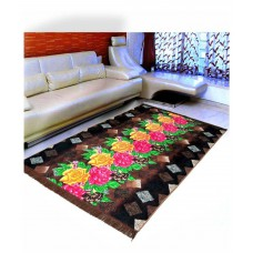 Deals, Discounts & Offers on Home Decor & Festive Needs - Warmland Multi Cotton Schenelle Carpet Ethnic