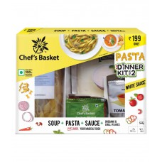 Deals, Discounts & Offers on Home Appliances - Chef's Basket White Sauce Pasta and Soup Dinner Kit