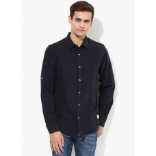 Deals, Discounts & Offers on Men Clothing - Flat 50% off on  Solid Slim Fit Casual Shirt