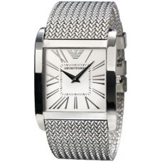 Deals, Discounts & Offers on Men - Imported Emporio Armani  White Dial Stainless Steel Classic Watch