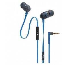 Deals, Discounts & Offers on Mobile Accessories - Flat 62% off on  BassHeads  In Ear Wired With Mic Earphones Blue