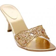 Deals, Discounts & Offers on Women - Flat 49% off on Catwalk  Gold Heels