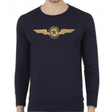 Deals, Discounts & Offers on Men Clothing - Konners Full Sleeve T shirt - Star Wings
