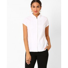 Deals, Discounts & Offers on Women Clothing - Shirt With Pintucks