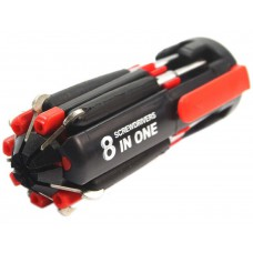Deals, Discounts & Offers on Electronics - Magnifico 8 In 1 Multi Screwdriver With LED Portable Torch