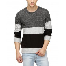 Deals, Discounts & Offers on Men Clothing - Campus Sutra Tri Full Sleeve T-Shirt