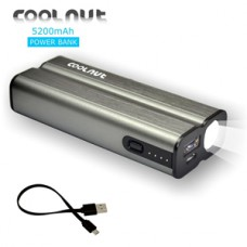 Deals, Discounts & Offers on Power Banks - COOLNUT Slim Power Bank 5200mAh for Mobile All Android & Smartphones